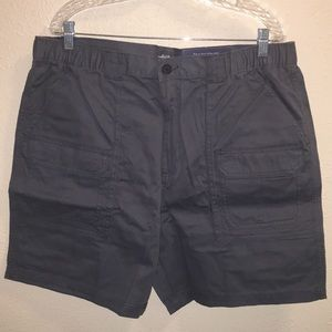 NWT Mens Croft & Barrow Elastic Cargo Shorts Sz 40